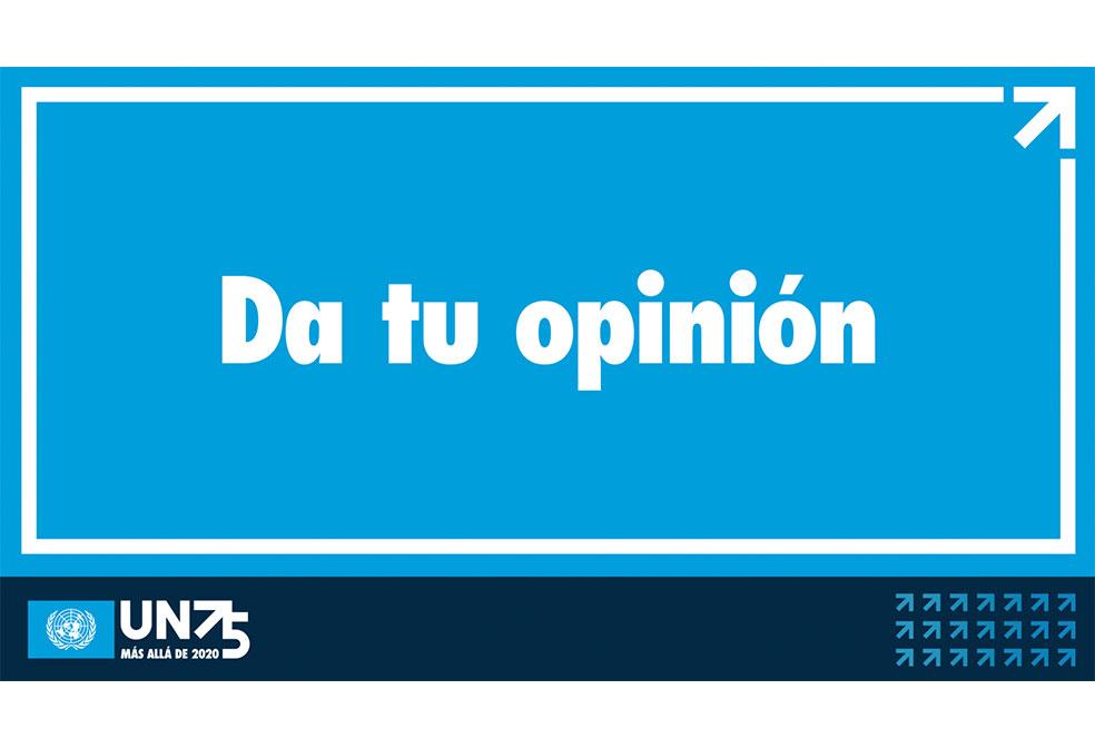 Súmate a la mayor conversación del mundo: ONU75 y más allá