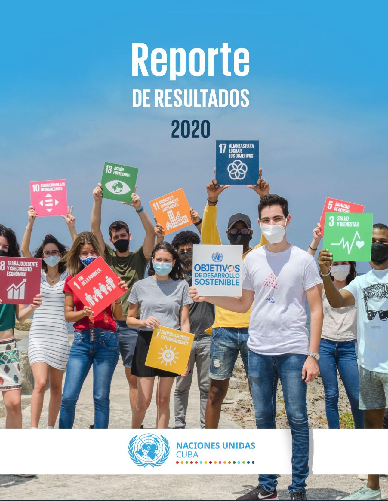 ONU Cuba en 2020: Reporte de Resultados