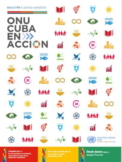 ONU CUBA EN ACCIÓN, Boletín 1